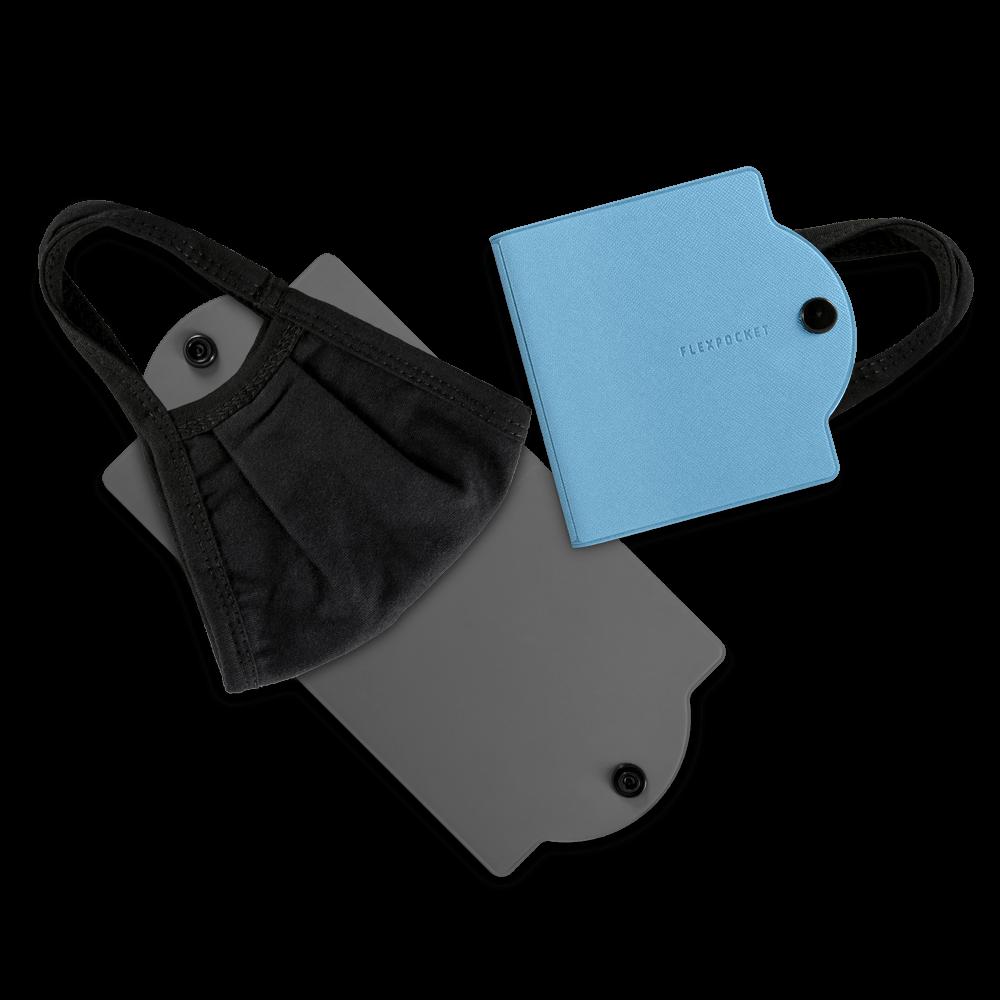 Универсальный чехол для маски, цвет голубой