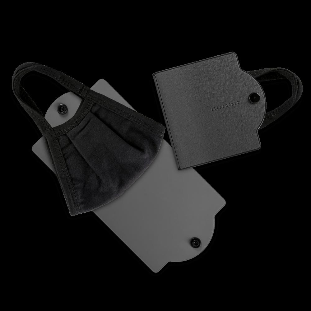 Универсальный чехол для маски, цвет серый
