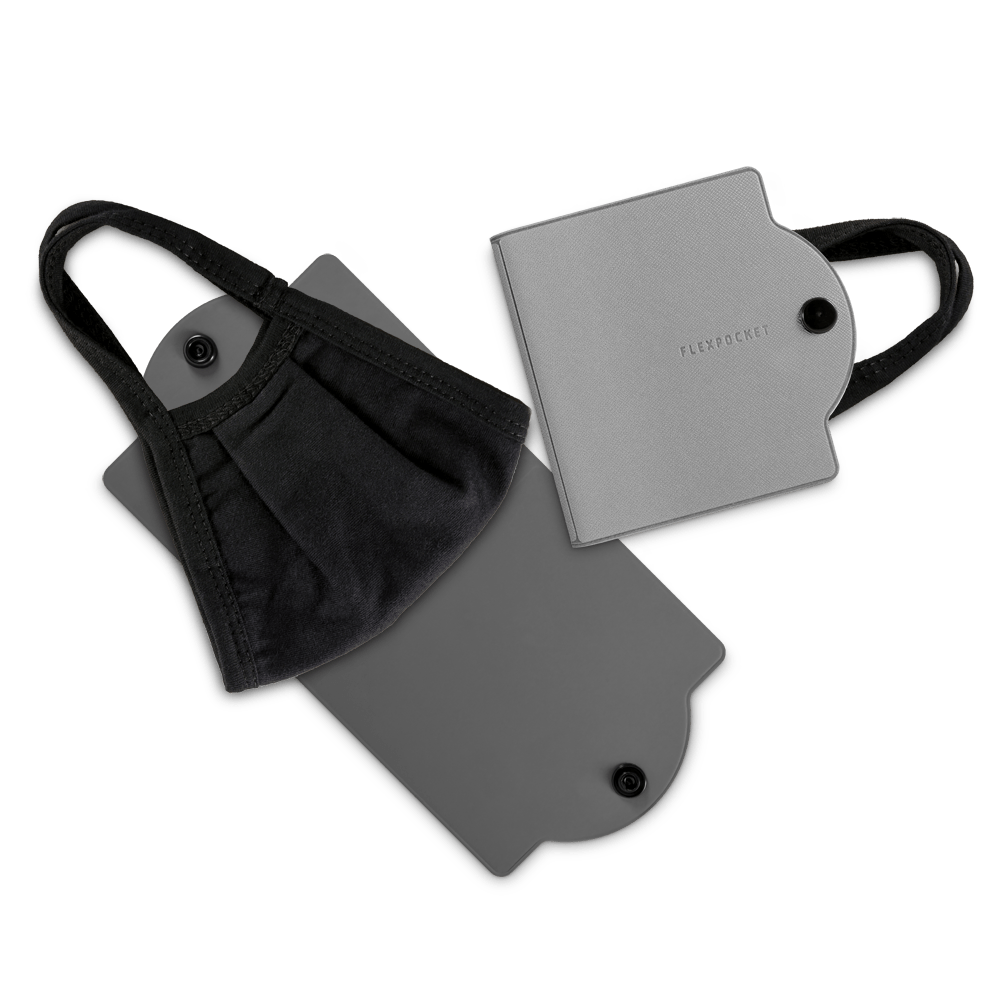 Универсальный чехол для маски, цвет светло-серый