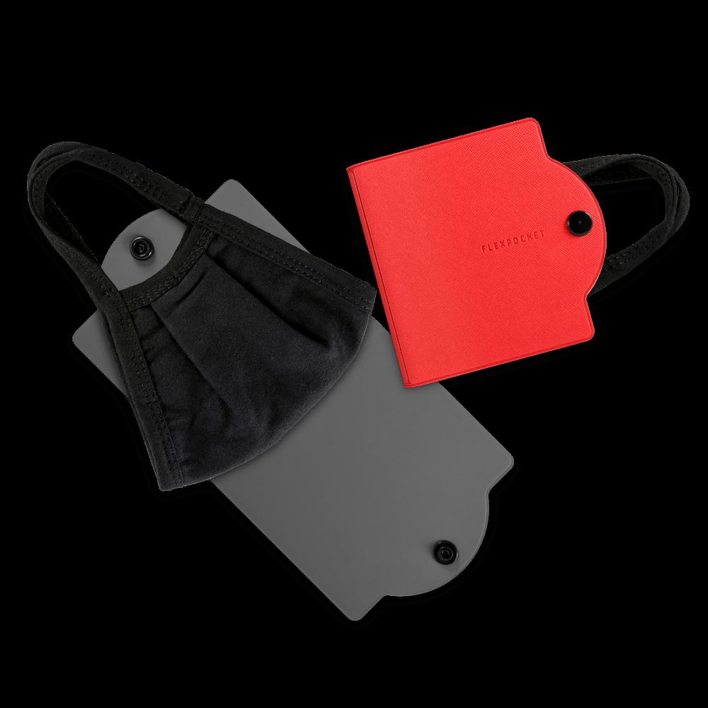 Универсальный чехол для маски, цвет красный