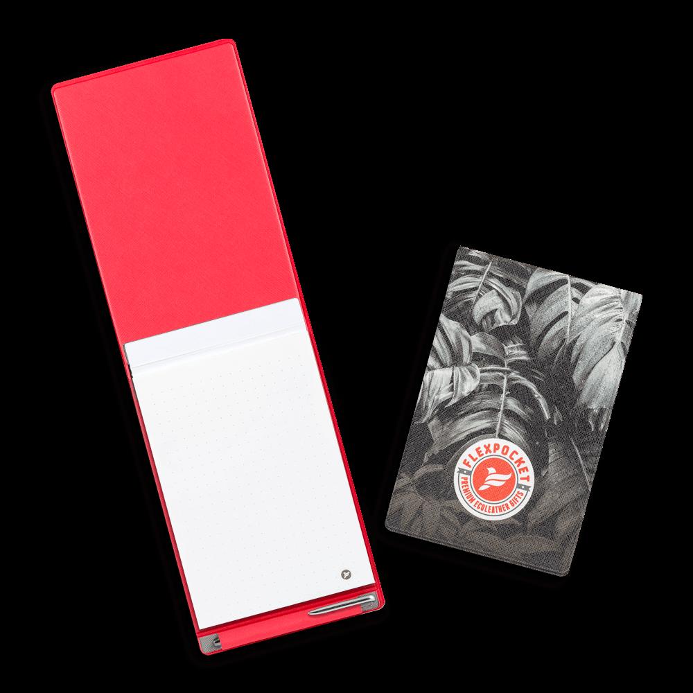 Блокнот B7 с ручкой, полноцветная печать