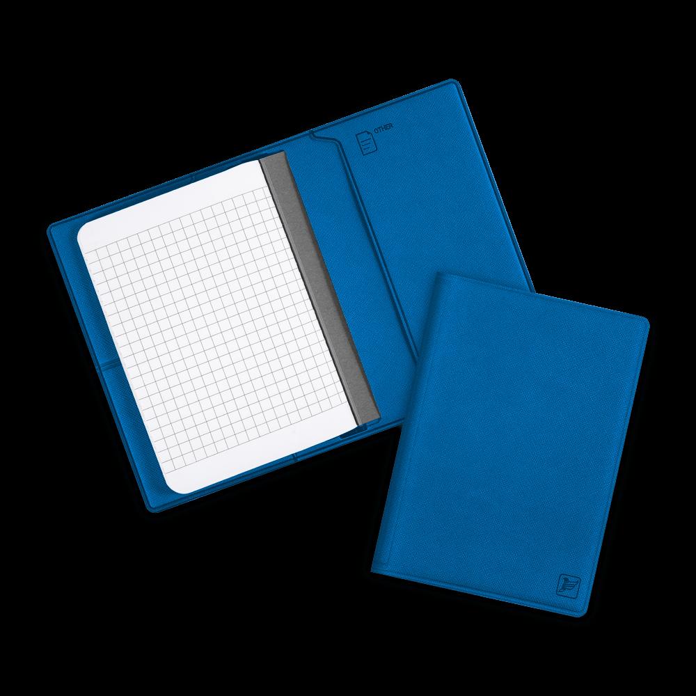 Записная книжка B7, цвет синий