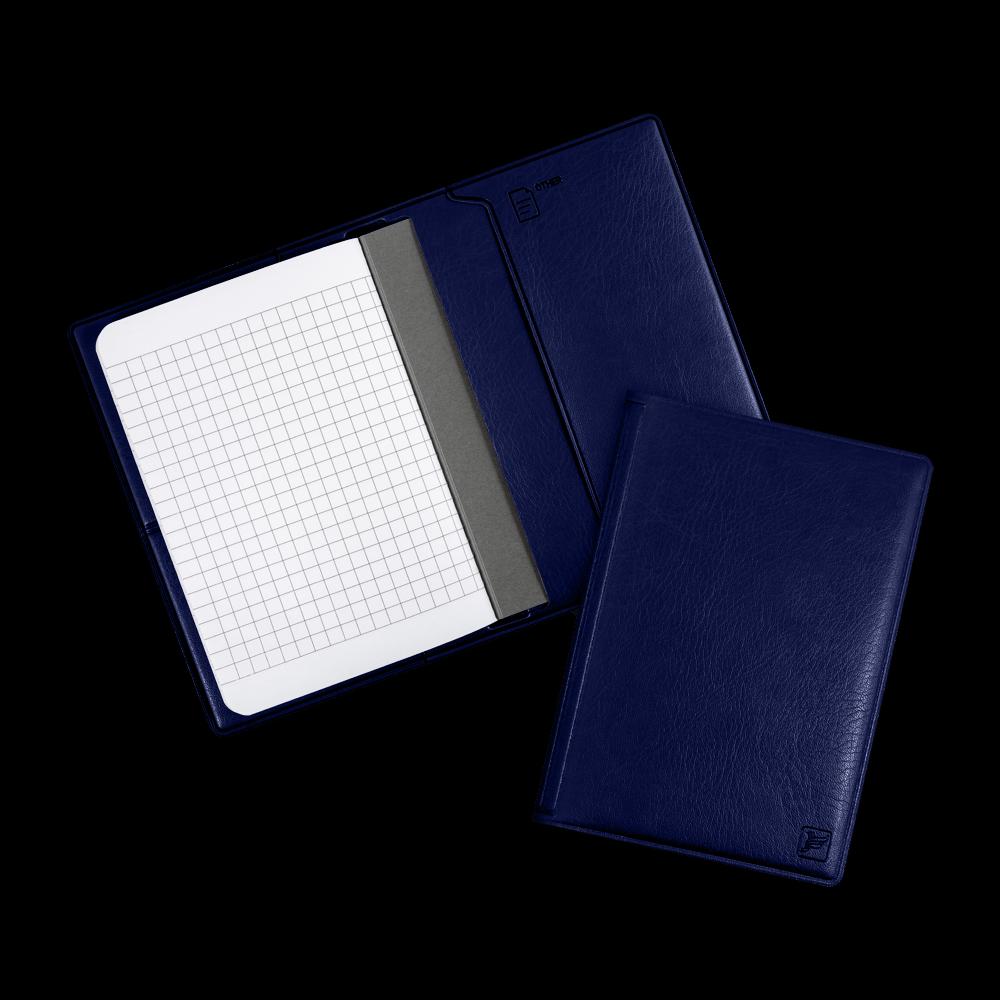 Записная книжка B7, цвет темно-синий classic