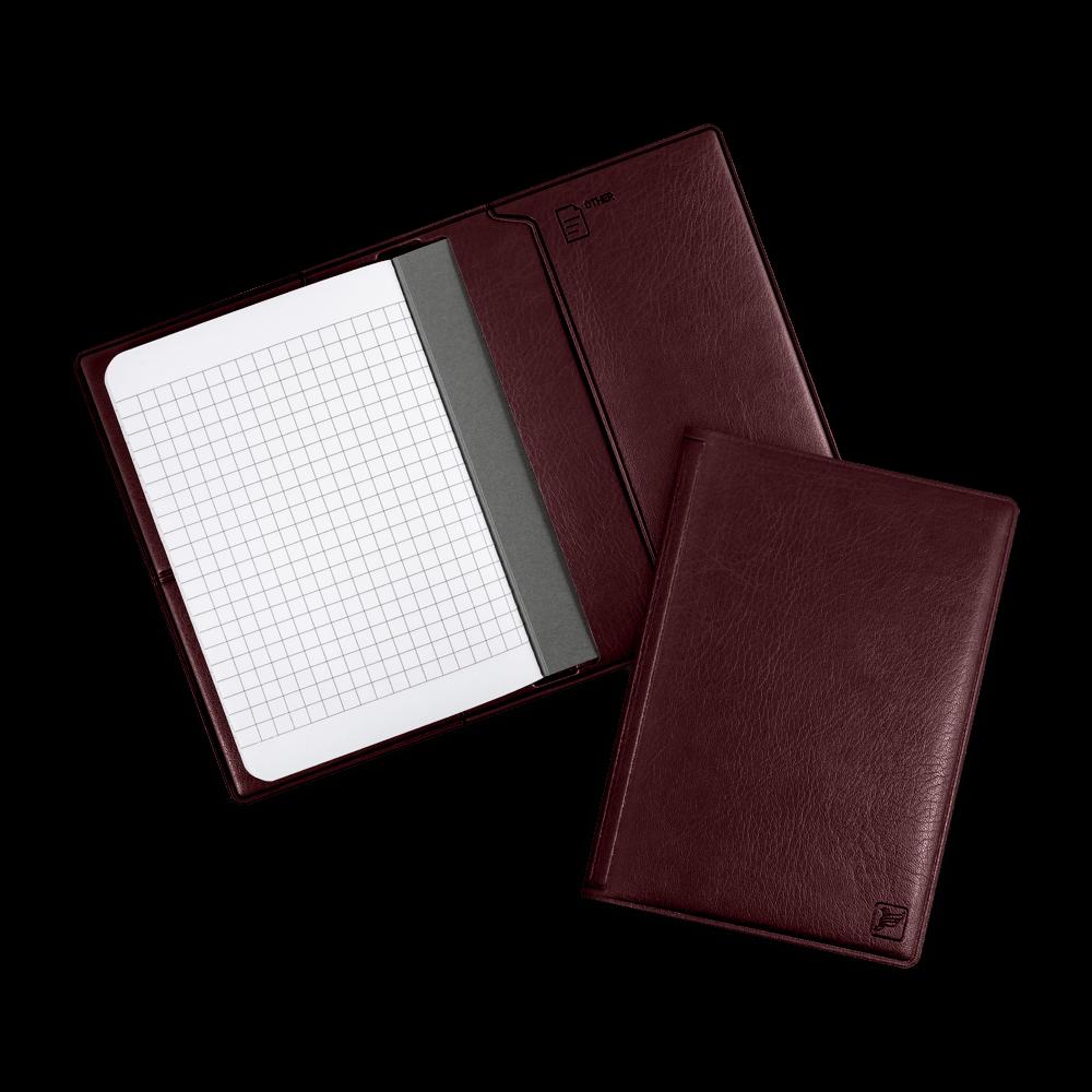 Записная книжка B7, цвет коричневый classic