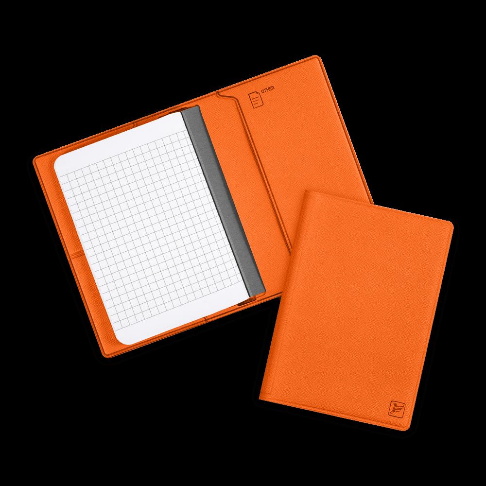 Записная книжка B7, цвет оранжевый