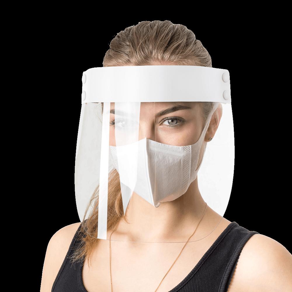 Защитный экран для лица без печати